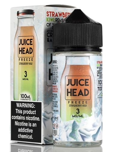 Strawberries coupled with the tangy blast of ripened kiwis blessed with a hint of menthol.