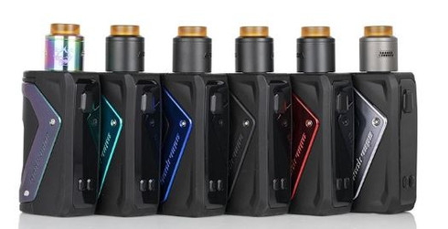 Discover the Geek Vape AEGIS SQUONK 100W Box Mod, deploying an advanced squonk device with intelligent AS-100 Chipset, interchangeable pump section sleeve, while maintaining the shock-proof and waterproof design.