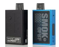 SMOK OFRF NexMESH 30W Pod Kit, featuring an integrated 1200mAh Rechargeable Battery, 5-30W range, and utilizes the NexMesh Coils to produce lots of vapor for MTL or DTL vaping.