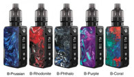 VooPoo DRAG Mini Refresh Edition Kit  P O D   T A N K   M A K E S   M I N I   M I G H T I E R .   The DRAG Mini series, with a built-in 4400mAh battery and a maximum output of 117W, is deeply loved by vapers all over the world. The DRAG Mini is small in size but FIT from the inside out. Now we've upgraded it! With the new PnP Pod Tank, it is compatible with all PnP Series Coils, which will bring you a more convenient and comfortable vaping experience.  Transformable PnP Pod Tank  Innovative GENE.FIT Chip  Built-In 4400mAh Battery  Max 117W Output  Multiple Color Schemes  Compatible with all PnP Coils  PORTABLE AND ERGONOMIC DESIGN - The exquisite and artistic design of the DRAG Mini has an ergonomic and portable shape to it with two main frame colors to choose from, black or platinum, and five different colored resin panels.  PNP POD TANK MAKES EVERYTHING SIMPLE - The PnP Pod Tank on the DRAG Mini can flexibly switch between a pod and a tank and matches perhaps the most abundant and excellent PnP coils. Magnetic adaptation makes coil changes and e-liquid filling simpler than ever before and the adjustable airflow 510 base matches almost all devices on the market. All you need is one.  PnP Pod Tank Parameters:  Capacity: 4.5mL  Material: Stainless Steel + PCTG  Resistance: 0.2Ω (PnP-VM5) / 0.2Ω (PnP-VM6)  FIT YOUR SECURITY --- GENE.FIT CHIP INSIDE - GENE.FIT has the powerful performance of fast ignition and high burst and also supports intelligent identification of coils to prevent the coil from burning out.  FIT FOR DRAG MINI - Our vision has always been to create a device that is of high performance, long endurance, and best protection for vapers. FIT for the DRAG Mini can bring a better user experience with its safety design and long battery life, as well as protects tanks from burning out.  FIT 117W OUTPUT - The compact DRAG Mini has a maximum output power of 117W, allowing you to make bigger, more flavorful clouds in a second. The 5-117W range can be adjusted to suit your different flavor needs and preferences.  DRAG Mini Mod Parameters:  Dimensions: 127.6mm x 25.5mm x 48.5mm  Material: Zinc Alloy + Resin  Output Power: 5-117W  Output Voltage: 0V-7.5V  Resistance: 0.05Ω-5.0Ω  Battery Capacity: 4400mAh Internal   ONE PRICE, DOUBLE FLAVOR - The DRAG Mini is compatible with all PnP Series Coils but is equipped with only two; VM6 0.15Ω and VM5 0.2Ω. They will allow you to feel the power of the PnP coils with big clouds and incredible flavors. Just pull and push for installation and coil changes to enjoy a different vaping experience, fast and affordably.  PnP-VM6 Coil  DL  Resistance: 0.15Ω  Type: Mesh  Range: 60-80W  Suggested E-Liquid: Nicotine ≤ 10mg  PnP-VM5 Coil  DL  Resistance: 0.2Ω  Type: Mesh  Range: 40-60W  Suggested E-Liquid: Nicotine ≤ 10mg  4400MAH BUILT-IN BATTERY - The battery power of the DRAG Mini is equivalent to that of a dual 18650 battery device, almost twice as strong when compared!  SEVEN SAFETY PROTECTIONS - Overtime protection, short-circuit protection, overcharge protection, max power protection, output over-current protection, over discharge protection, and over-temperature protection.  Kit Includes:  1 x DRAG Mini Mod  1 x PnP Pod Tank  1 x PnP-VM5 0.2Ω Coil  1 x PnP-VM6 0.15Ω Coil  1 x USB Cable  1 x User Manual