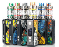 FreeMaX MAXUS 200W Starter Kit, featuring the FM CHIP-MAXUS 1.0 Chipset, single or dual battery, and comes with the Maxus Pro Sub-Ohm Tank.