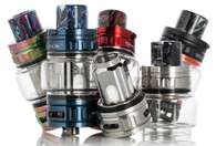 7.5mL capacity, utilizes native TFV18 Coils, and cross-compatible with the TFV16 Mesh Coil Series.