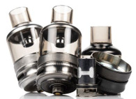 Featuring a 5.5mL capacity, TPP Coil Compatibility, and a dual slotted airflow control ring for precision control.