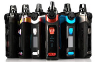 Featuring a single 18650 battery (sold separately), 5-40W range, and can hold up to 5.5mL of eJuice in a refillable pod.