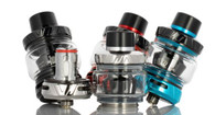 Check out the Uwell CROWN 5 Sub-Ohm Tank, featuring a 5mL refillable capacity, quarter turn top fill system, and pro-FOCS Flavor Testing technology to boost flavor. 29mm Diameter 5mL Bubble Glass Capacity Pyrex Glass Reinforcement Superior Stainless Steel Tank Construction Quarter Turn Top Fill System Uwell CROWN 5 Coil Series 0.23ohm UN2 Single Mesh Coil - rated for 65-70W 0.3ohm UN2-2 Dual Mesh Coils - rated for 50-55W Press-Fit Coil Installation Pro-FOCS Flavor Testing Technology Dual Slotted Bottom Airflow Control Ring Detachable Structure Threaded 510 Connection Available in Silver, Black, Yellow, Grey, Red, Blue