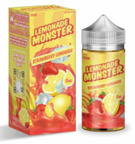 Delectable mixture that's both sweet and sour from combining the tanginess of ripe, yellow lemons with the sweetness of freshly picked strawberries.