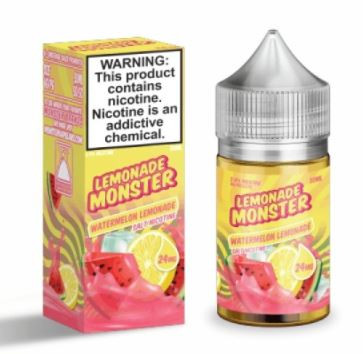 Delectable mixture that's both sweet and sour from combining the tanginess of ripe, yellow lemons with the sweetness of freshly picked watermelons.