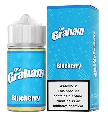 Sweet honey touched graham cracker mixed with blueberries bursting with flavor.
