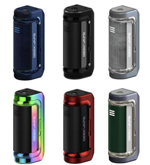 the Geekvape Aegis Mini 2 M100 Mod possesses 2500mAh large battery capacity which can fire out 100W max output. Secondly, the Geekvape Aegis Mini 2 M100 Mod is made of new tri-proof. Industry-leading lP68 rating water, dust resistance and ground-breaking shock-resistance. Moreover, the Geekvape Aegis Mini 2 M100 Mod has 1.08'' full screen with new UI design for better visual experience also featuring a 2A Type-C fast charging.