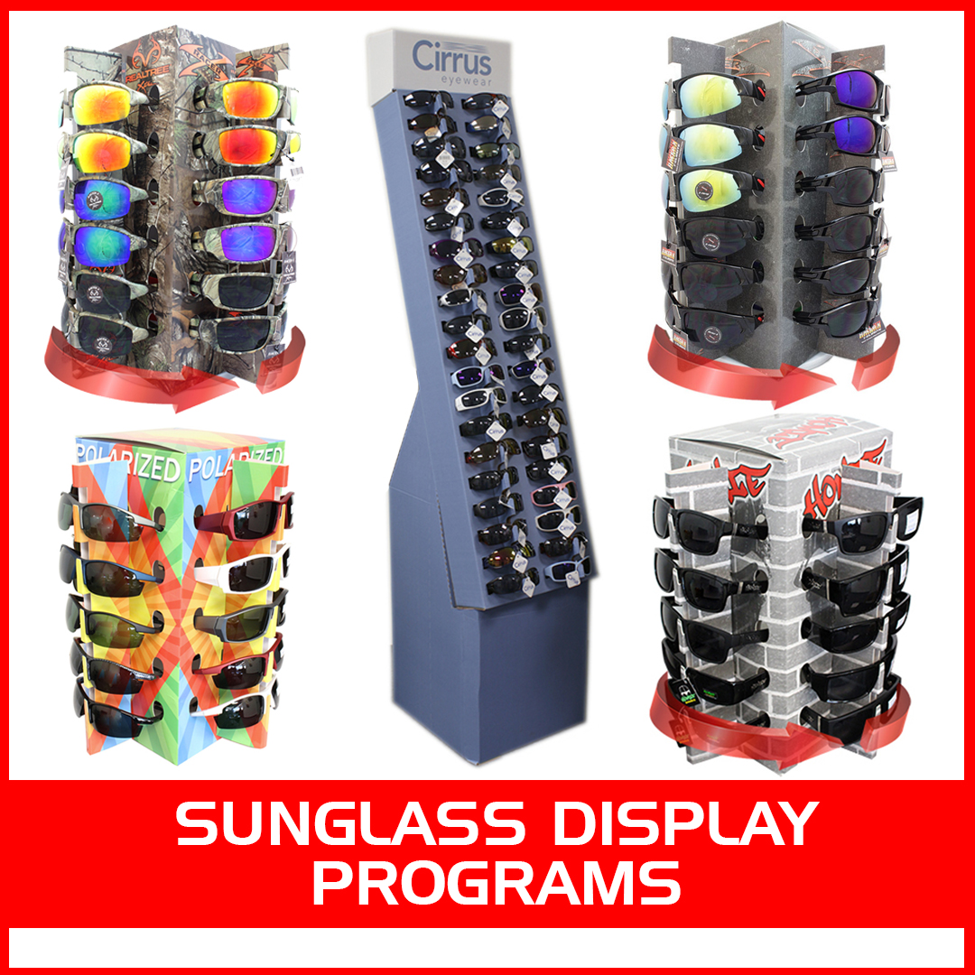 Sunglasses Displays Wholesale Sharkeyes