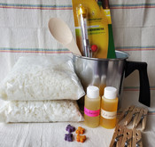 Candle Making Starter Kit, including 6 glass jars