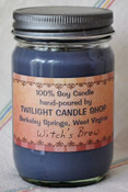 Mason Jar Soy Candle (12oz) custom scent