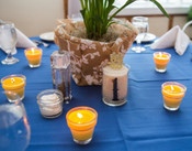 Wedding or Party Flowerpot Candles (by the dozen, unscented)