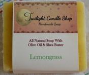 Handmade Natural Soap, Lemongrass
