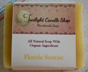 Handmade Natural Soap, Florida Sunrise
