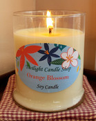 Custom Soy Candle in Classic Glass Jar (12oz), your choice of fragrance, hand-poured by Twilight Candle Shop