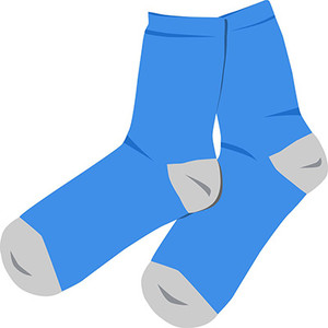 How do I label socks?