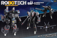 Comic Con 2015 Exclusive: Robotech GBP-1 - Stealth Fighter - Heavy Armor