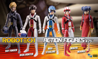 Robotech Poseable Action Figures (Set of 5)