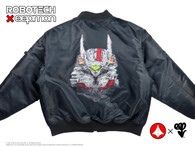Robotech X eepmon -  VF-1J Rick Hunter Aviator Flight Jacket