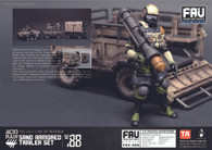 Acid Rain Sand Armored Trailer Set