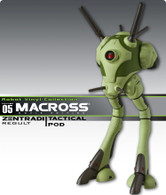 Macross Zentradi (Regault) Tactical Battlepod Vinyl Figure