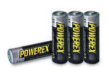4x High-Capacity AA NiMh Batteries