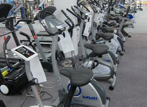 Exercise Bikes in our stores
