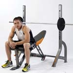 Weight Bench for muscle gain