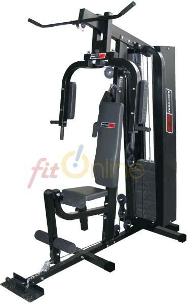 Home gym used by Livio on Bringing Sexy Back