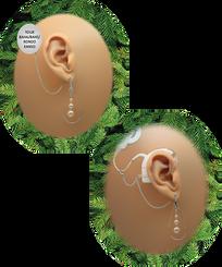 Teardrop Hoop & Pearls - Swarovski Pearls