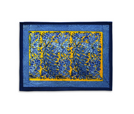 Bougainvilliers Yellow Blue Placemats, Set of 6