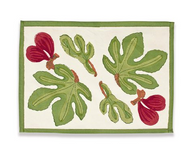 Fig Red Placemats, Set of 6