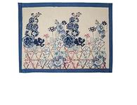 Fleur Sauvage Bleu Placemats, Set of 6