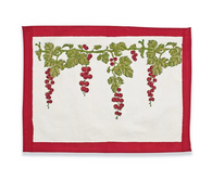 Gooseberry Red Placemats, Set of 6