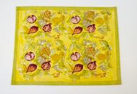 Tutti Frutti Yellow Green Placemats, Set of 6
