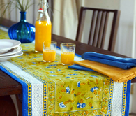 Bleuet Table Runner