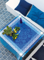 Azulejos Blue China Coated