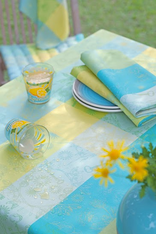 Tablecloth and Napkin Detail