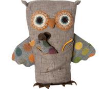 Owl & Mouse Stuffed Animal