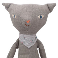 Cat Grey Bandana