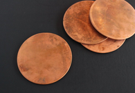 Coaster Set, Copper
