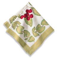 Cherry Napkins, Set of 6