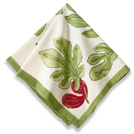 Fig Red Napkins, Set of 6