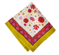 Fleur Sauvage Multi Napkins, Set of 6