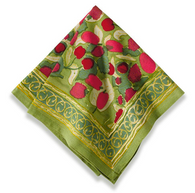 Fruit Red Napkins, Set of 6