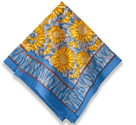 Sunflower Blue Napkins, Set of 6