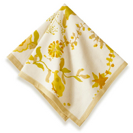 Treetop Yellow Napkins, Set of 6