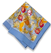Tutti Frutti Blue Napkins, Set of 6