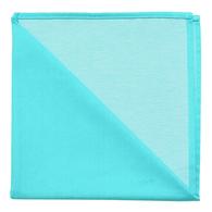 Bicolor Cotton Napkins Vivandiere / Blanc , Set of 6
